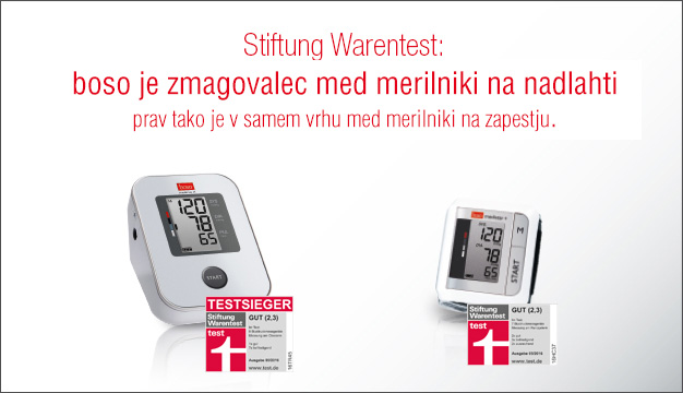 nagrajena merilnika krvnega tlaka
